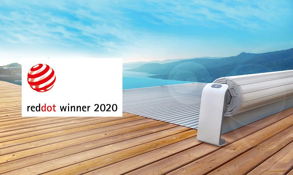 Les couvertures de piscine Maytronics récompensées par le Red Dot Award 2020